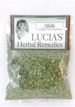 Alfalfa herbal tea