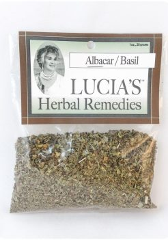 Basil / Albacar herbal tea