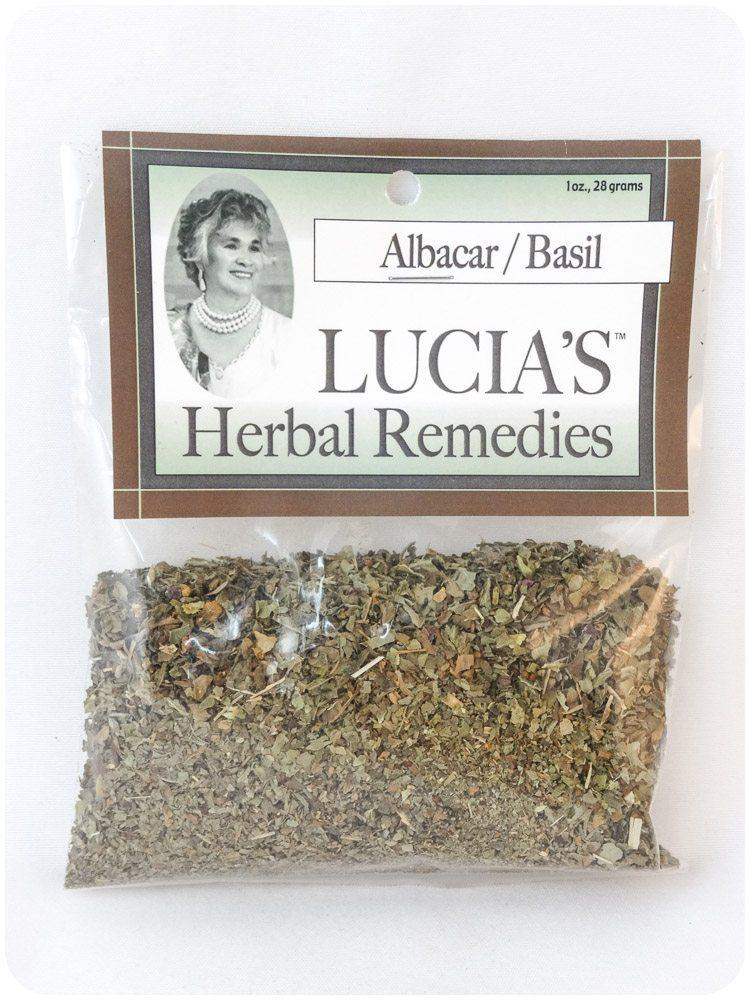 Basil / Albacar herbal tea