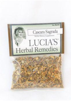 Cascara Sagrada herbal tea