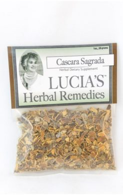 Cascara Sagrada herbal tea