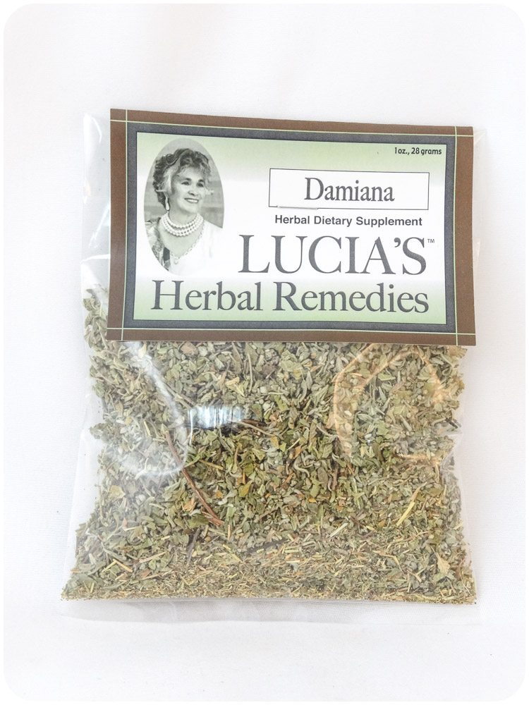 Damiana herbal tea