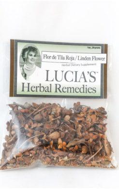 Linden Flower / Flor de Tila Roja herbal tea