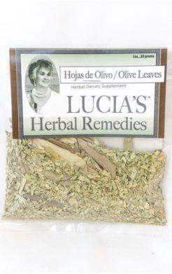 Olive Leaf / Hojas de Olivo herbal tea