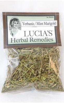 Yerbaniz / mint marigold herbal tea