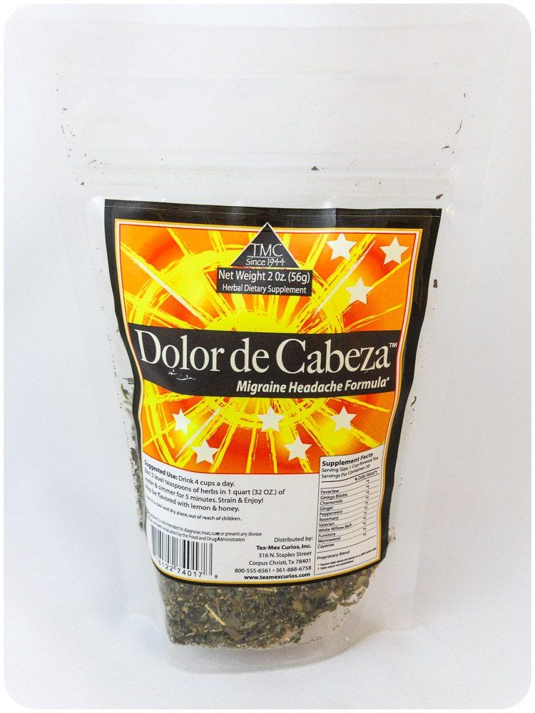 Dolor de Cabeza Herbal Tea
