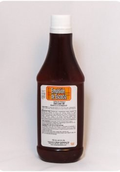 Emulsion de Escocia orange flavor cod liver oil