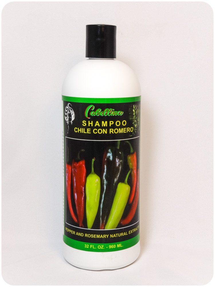 Shampoo Chile con Romero