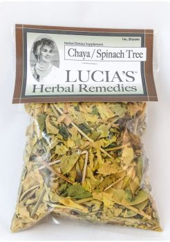 Chaya Herbal Tea / Spinach Tree
