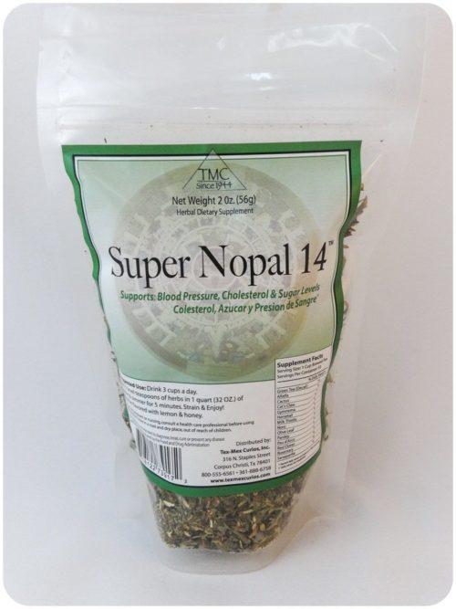 Super Nopal 14 Herbal Tea