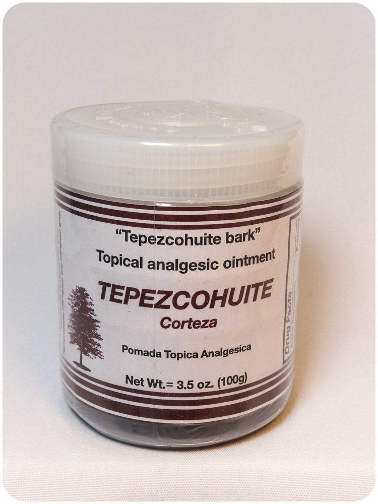 Pomada Tepezcohuite / Tepezcohuite ointment
