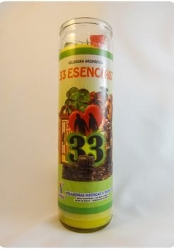 33 Esencias / 33 Essences (Triple Strength Candle)