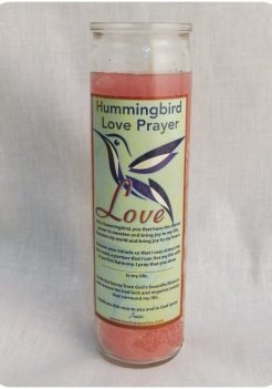 Chuparosa Candle / Hummingbird Candle