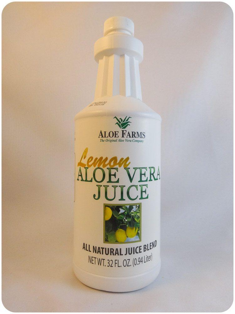 Lemon Aloe Vera Juice