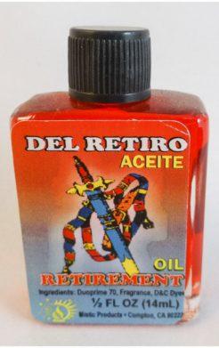 Aceite Del Retiro / Retirement Spiritual Oil