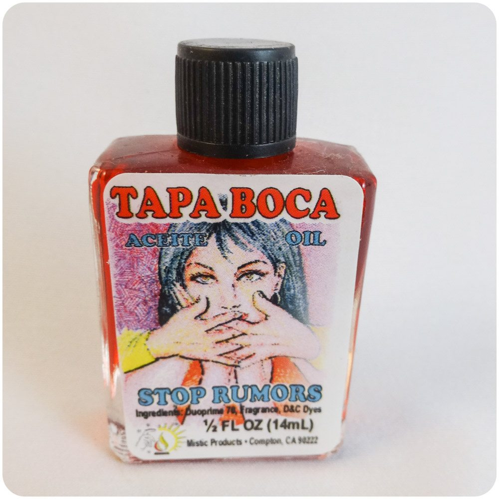 Aceite Tapa Boca / Stop Gossip Spiritual Oil
