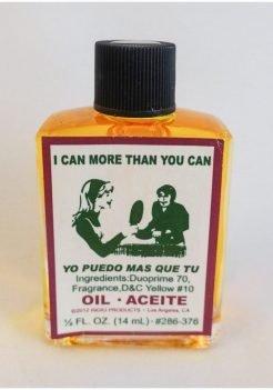 Aceite Yo Puedo Mas Que Tu / I Can More Than You Spiritual Oil