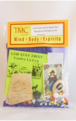 Law Stay Away Lucky Charm / Amuleto Contra la Ley