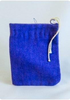 Purple Charm Bag