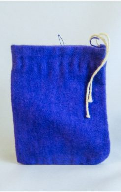 Purple Charm Bag