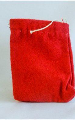 Red Charm Bag