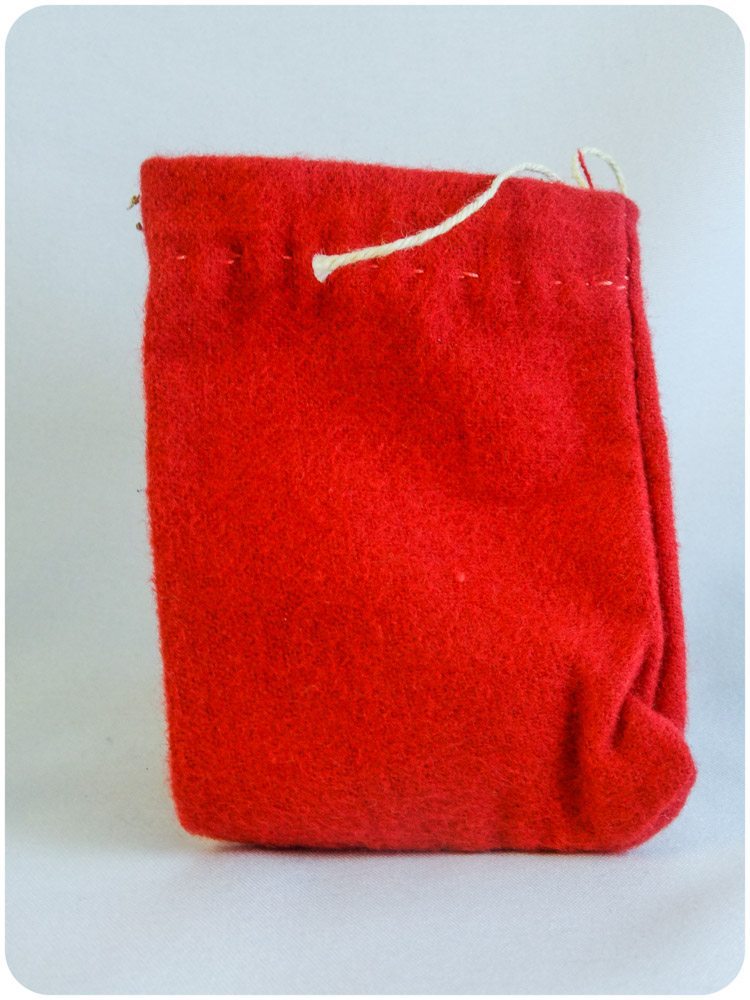 Red Charm Bag