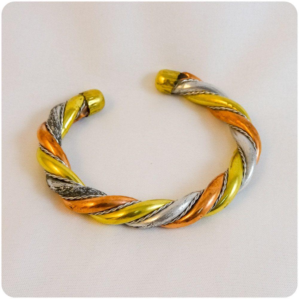 Copper Twine Bracelet