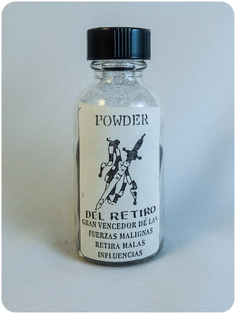Retiro black powder / Polvo Espiritual Negro
