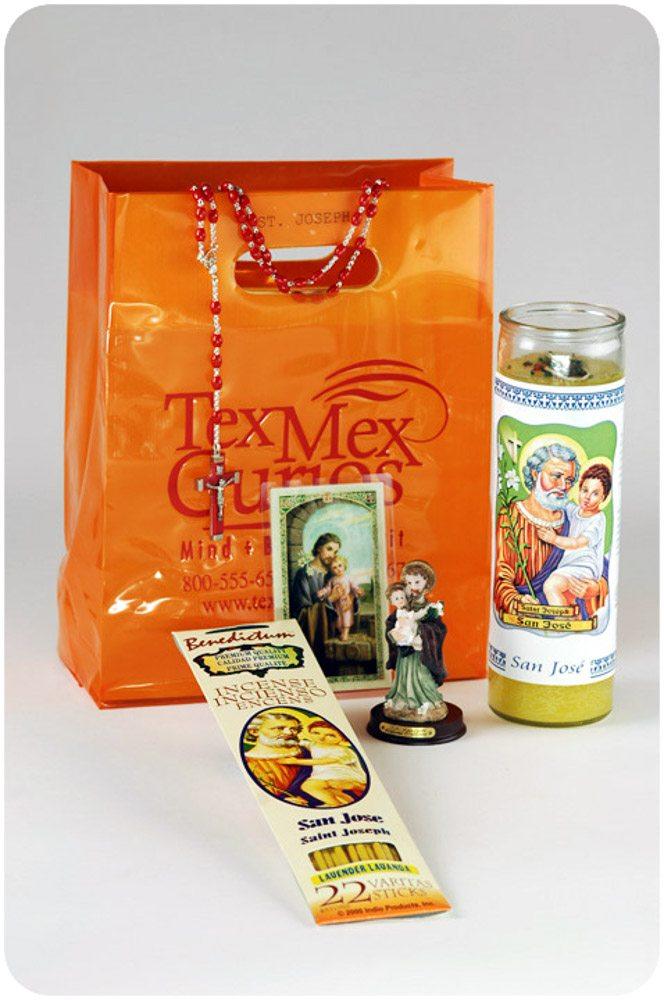 Saint Joseph Home sale ritual set