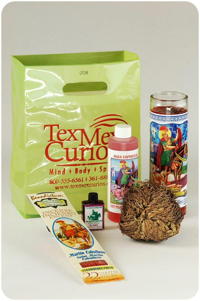 Saint Martin Caballero of Tours ritual set