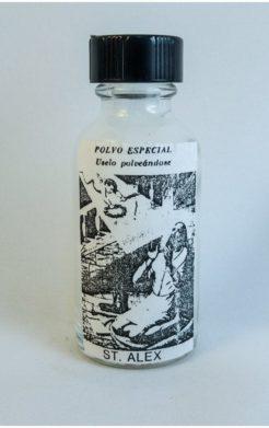 Saint Alex Spiritual Powder / San Alejo Polvo Espiritual