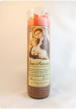 Saint Anthony Candle / San Antonio Candle (Triple Strength)