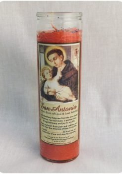 Saint Anthony Candle / San Antonio Candle