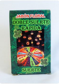 Double Fast Luck Soap / Jabon Suerte Rapida