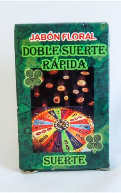 Double Fast Luck Soap / Jabon Suerte Rapida