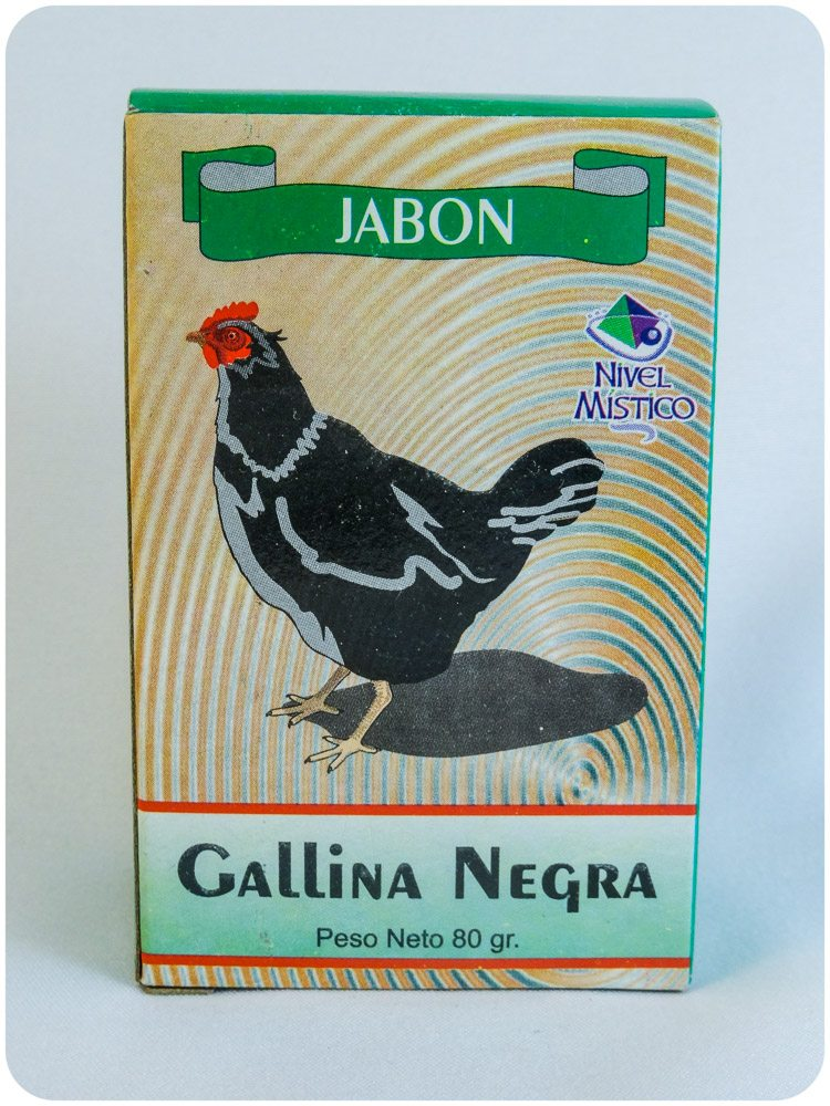Jabon Gallina Negra