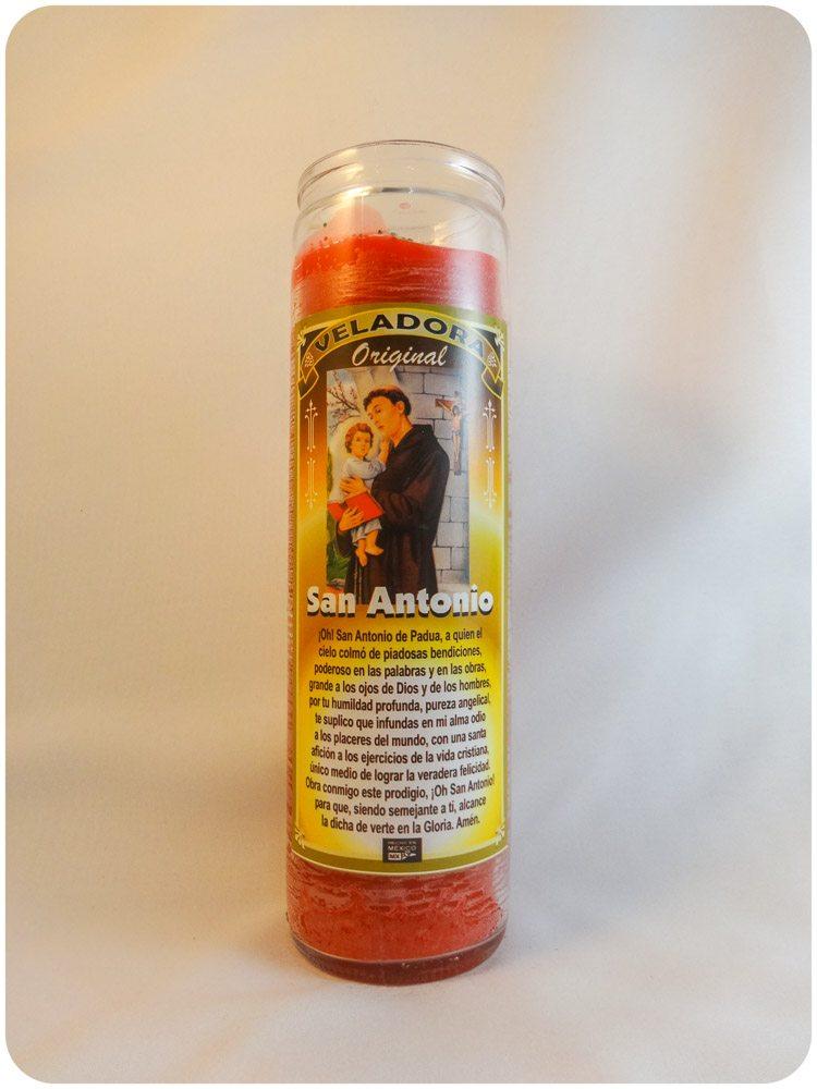 Saint Anthony Candle / San Antonio Candle