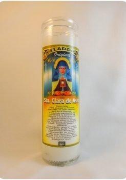 Saint Claire / Santa Clara Candle
