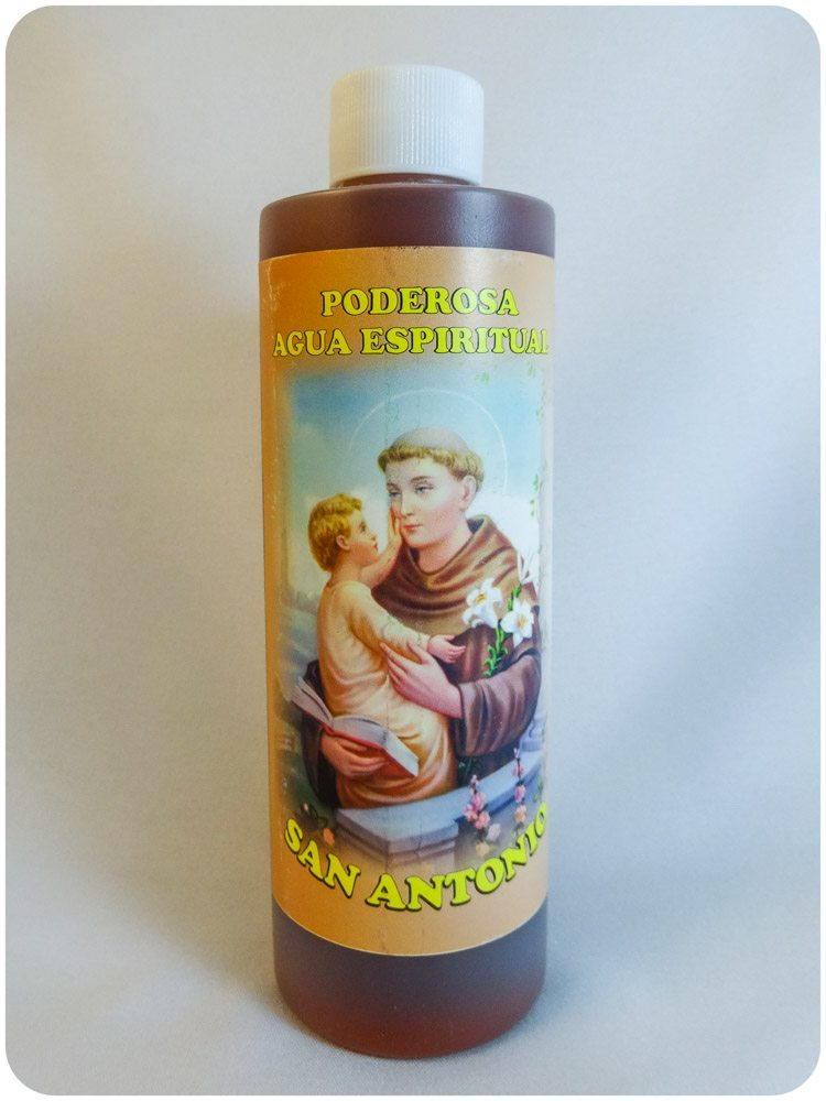 Saint Anthony Spiritual Water / Agua Espiritual San Antonio