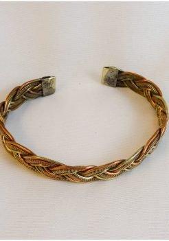 Braid Copper Bracelet