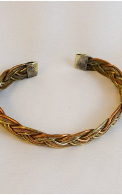 Braid Copper Bracelet