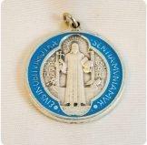 Saint Benedict Silver Coin