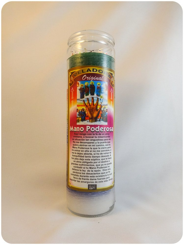 Mano Poderosa Candle / Most Powerful Hand Candle
