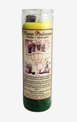 Mano Poderosa Candle / Most Powerful Hand Candle (Triple Strength)