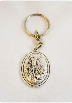 Saint Michael Key Chain