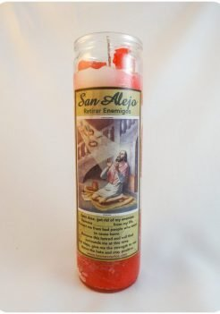 Saint Alex Candle / San Alejo Candle (Triple Strength)