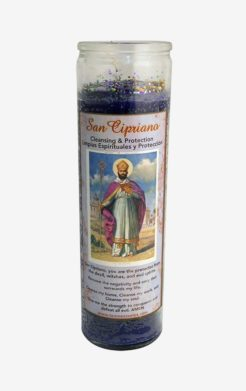 Saint Cyprian Candle