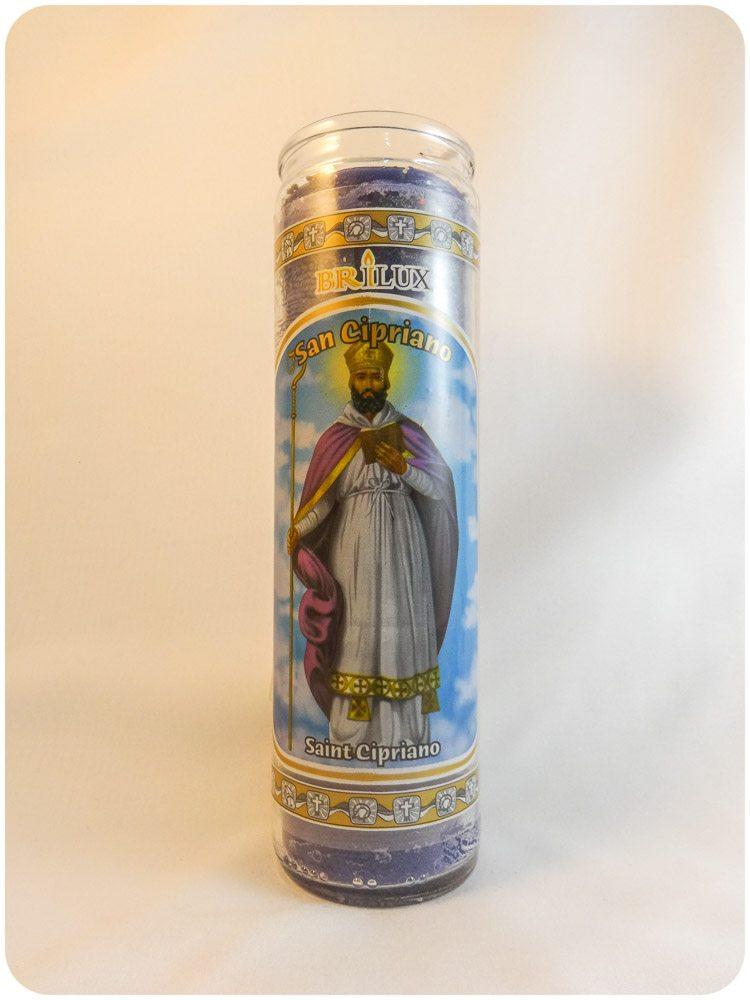 Saint Cyprian Candle / San Ciprano