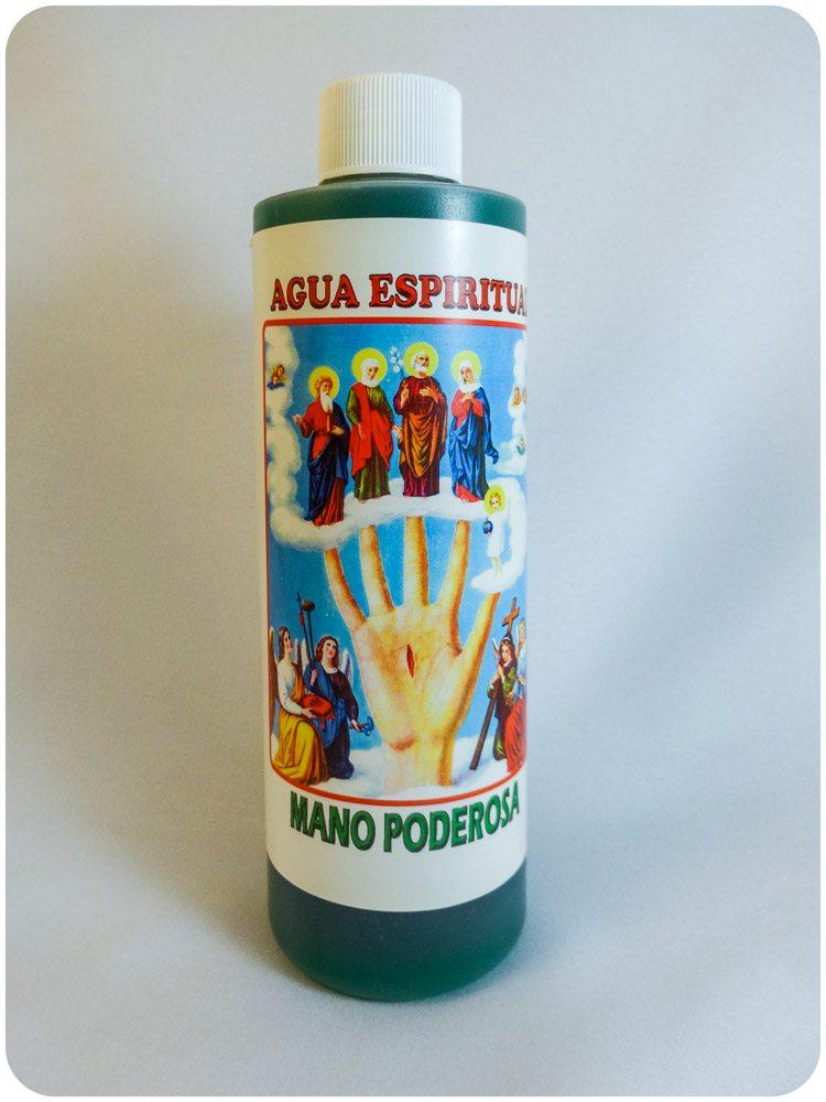 Ague Espiritual Mano Poderosa / Most Powerful Hand Spiritual Water