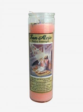 Saint Alex Candle